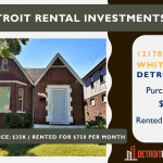 Detroit Rental Investment for Sale